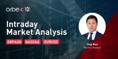 【Orbex技术分析】日内市场分析---纳斯达克指数测试多头能耐