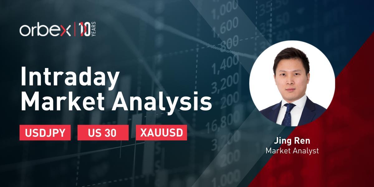 【Orbex技术分析】日内市场分析---美元兑日元寻找买盘兴趣