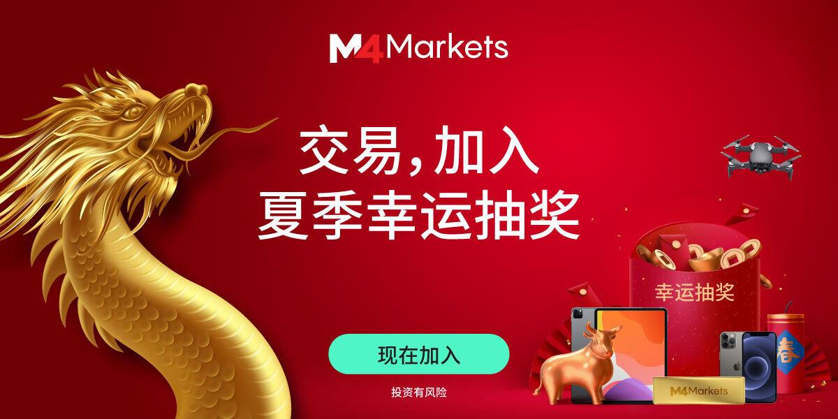 M4Markets为中国客户推出夏季幸运抽奖活动