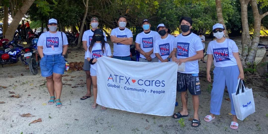 公益行动纪实,ATFX 跨界助力潘格劳岛海洋公益活动